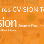 Here's what Foxit's acquisition of leading PDF document optimization software company CVISION means for you