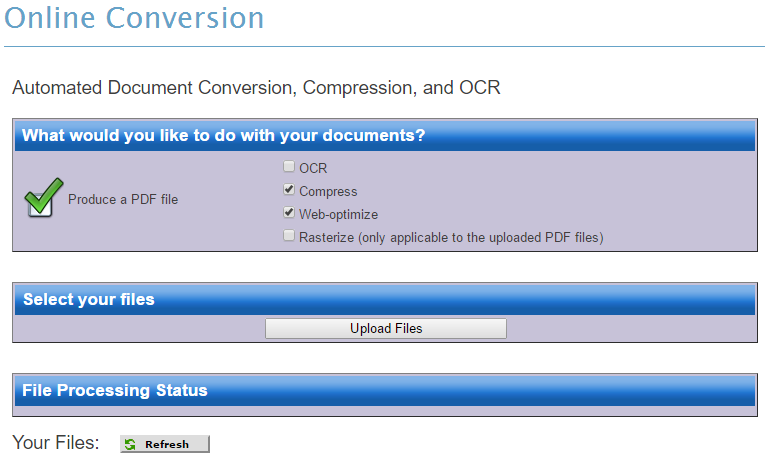Online Conversion Tool